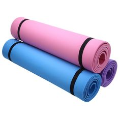 7b6f349b9fd15 3 Colors Fitness Equipments EVA 6mm Thick Yoga Mat Non slip Yoga Mat Health  Lose Weight Exercise Pad Yoga Mat Fitness Pad-in Yoga Mats from Sports ...