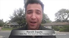 Harold Zapata   First American Title