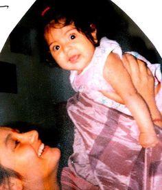 Bollywood Hot actress Anushka Sharma childhood images