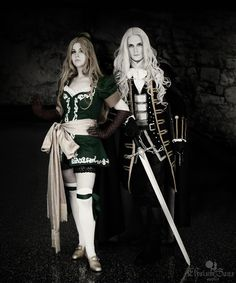 Traversing the Marble Gallery: Maria and Alucard by *Elysium-Sans on deviantART (Castlevania: Symphony of the Night -- Alucard and Maria Renard) Photo courtesy of Franklin Teng.