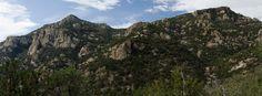 Kimball Peak from Ventana Canyon, Pusch Ridge Wilderness, AZ