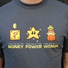 Money Power Woman - shirt