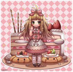 Kawaii Pastry Chibi