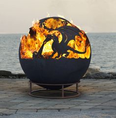 Dragon Firepit by London Garden Trading.......
