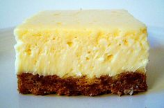 Looking for great cheesecake taste without most of the fuss, these cheesecake bars fit the bill! it fulfills the cheesecake craving in a splendid way.