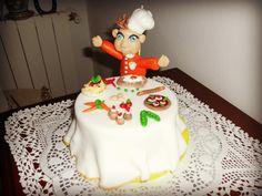 Torta decorata in pasta di zucchero inviata da Laura Leone alla nostra App per smartphone. Clicca e scarica anche tu la nostra App e inviaci le foto delle tue torte e le tue ricette.