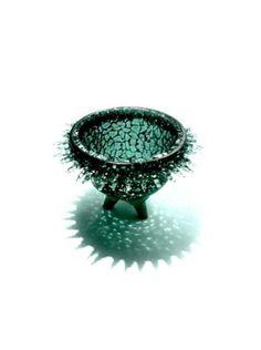 P Gurgel-Segrillo - contemporary designer & artist Textile Sculpture, Shark, Decorative Bowls, Glass Art, Objects, Artsy, Pottery, Contemporary, Creative