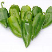 Moneymaker F1 paprika: Kápia típusú hibrid paprika. Korai, kúp alakú, csüngő 15×7 cm-es bogyót nevel, vastag húsú, sötétzöldből pirosra érik, jó ízű, édes. Korn, Stuffed Peppers, Vegetables, Red Peppers, Stuffed Pepper, Vegetable Recipes, Stuffed Sweet Peppers, Veggies