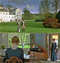 Sense and Sensibility at Saltram House, Plymouth, Devon, England - via Miss Moss and le projet d'amour