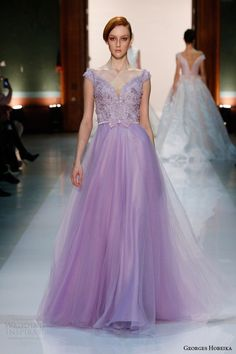 Inspiração para um casamento em lilás. #casamento #inspiracao #lilas #vestido #GeorgesHobeika #madrinhas #convidadas