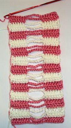 Прием вязания косички. Вязание - Советы и уроки, схемы и описание