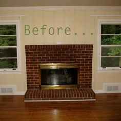 Before & After: Molly's Family Room Fireplace Makeover