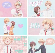 """Kaichou Wa Maid-Sama << the """"Flat as a board"""" scene was one of my favorites from this show :3"""
