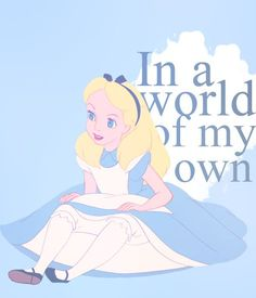 Image about disney in Alice no pais das maravilhas by Carol Disney Love, Disney Magic, Disney Pixar, Disney Characters, Alice And Wonderland Quotes, Adventures In Wonderland, Lewis Carroll, Welcome To My Life, Disneyland