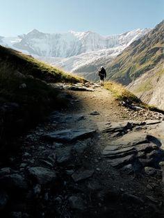 Fiescherhorn 4049m, near Grindelwald
