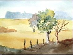 Paint Along with Larry Hamilton - Watercolor Workshop Lessons -1-3 - YouTube