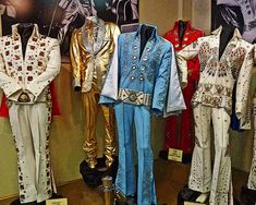 Elvis Presley costumes for sale at Graceland