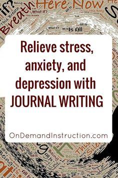 Journal, journal writing, journal ideas, journaling techniques, Self care, meditation, stress management, mental health, mindfulness, self esteem #PanicAttackKit