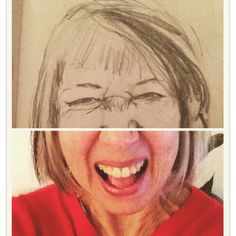 Day 14 in #selfieselfself art project. Have a good belly laugh today
