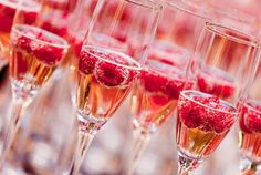 #PANDORAvalentinescontest szampan z malinami- pycha!