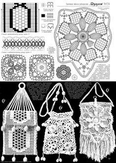 crochet crossbody bags