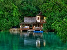 Jamaica – casual and low-key. But this is more, it's the perfect getaway!    Golden Eye Hotel, Saint Mary.