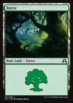 Magic: the Gathering - Forest (297) - Shadows Over Innistrad
