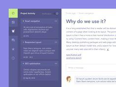 Task Manager by Vladimir Gruev #Design Popular #Dribbble #shots