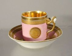 Pink Tea Cups, Antique Tea Cups, Tea Sets Vintage, Painted Cups, China Cups And Saucers, Tea Art, Porcelain Mugs, Tea Service, Tea Cup Saucer