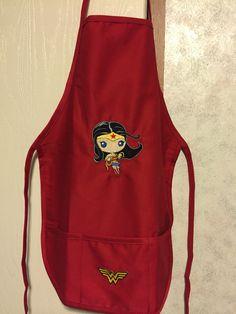 Wonder Woman child's apron Baby Wonder Woman, Kids Apron, Children, Women, Fashion, Young Children, Moda, Boys, Fashion Styles