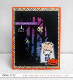SSS Special Edition Halloween Card Kit Blog Hop