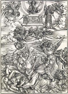 ALBRECHT DÜRER The Four Avenging Angels.