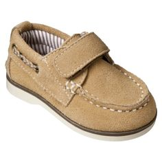 Baby Boy Circo® Aaron Suede Boat Shoe - Tan.Opens in a new window