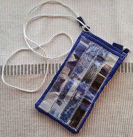 Kännykkäpussukka, pitkä malli // Purse for mobile phone, long version