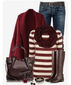 Burgundy with chocolate brown fashion mode, look fashion, fashion outfits, womens fashion, Mode Outfits, Casual Outfits, Fashion Outfits, Womens Fashion, Skirt Outfits, Outfits 2014, Casual Jeans, Dress Casual, Casual Shoes