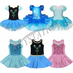 Toddler-Girls-Ballet-Dress-Dancewear-Costume-Dance-Gymnastic-Leotard-Tutu-Skirt