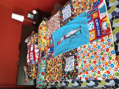 Front - Dr Seuss Cat in the Hat flannel duvet cover Minky pockets at side. Flannel pillow cases. Flannel decorative square pillows. Minky pillow sham.
