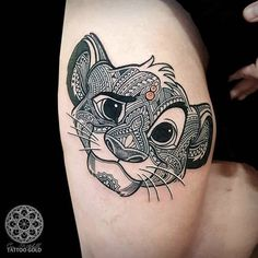 de6ecf916c7ab tattoo simba lion king tattoo ideas simba lion mosaic tattoo tattoo Tattoo  Magazines