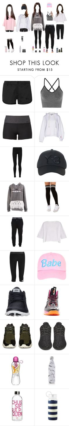 """""""Promise practicing for ITS/Concert"""" by promise-official ❤ liked on Polyvore featuring Y-3, Ivy Park, NIKE, T By Alexander Wang, Vince, Akira, McQ by Alexander McQueen, Helmut Lang, adidas and adidas Originals"""