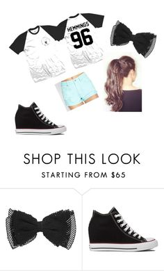 """""""outfit #5"""" by ash-237 on Polyvore featuring Converse and Forever 21"""
