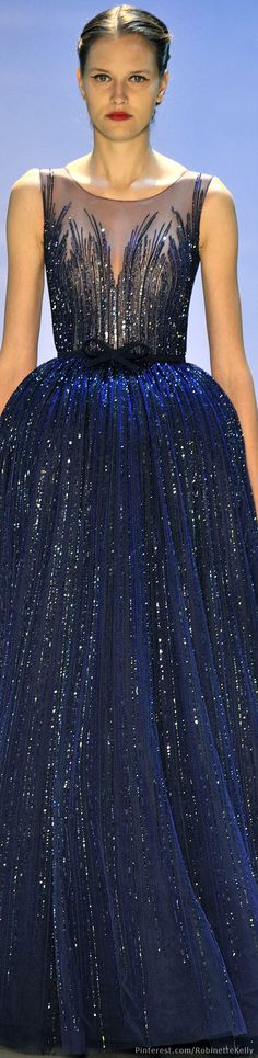 Georges Hobeika Haute Couture   F/W 2014-15
