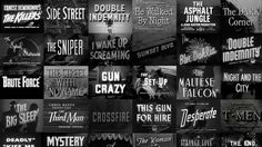 Film Noir Montage from filmmakeriq.com | Stine, the main character of City of Angels, is a Film Noir Screenwriter in 1940's Hollywood