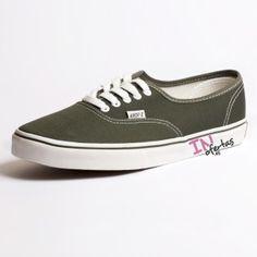 Zapatillas estilo VS verde oliva para hombres