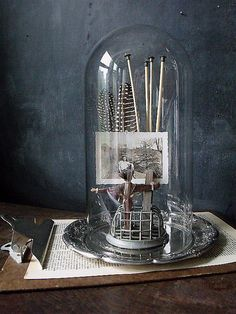 Love the creativity with vignettes/photography in this Etsy shop.
