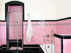 Vintage bathroom sinks the seven distinct design styles Retro. vintage bathroom sinks 38 Bathroom Mirror Ideas to Reflect Your Style Freshome. New Bathroom Designs, Art Deco Bathroom, Bathroom Colors, Bathroom Ideas, 50s Bathroom, Bathroom Taps, Bathroom Renovations, Bathroom Green, Ikea Bathroom