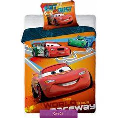 Disney Cars Orange bedding set   Pościel Auta Pomarańczowe