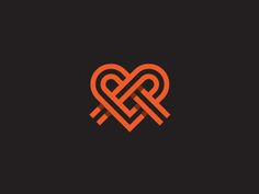 Heart_band #logo #design #inspiration