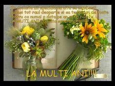 Romantic Films, Ladder Decor, Floral Wreath, Wreaths, 8 Martie, Youtube, David, Floral Crown, Door Wreaths