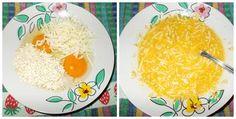 massa da omelete light de aveia com mussarela