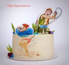 Торт для рыбака  немного с юмором. Как вам такая идея? Это Хильда. С ней очень много в интернете прикольных картинок. Она мне давно нравится. Наконец подвернулся случай посадить ее на торт  Наветно #конкурсиваново #розыгрышиваново #иваново37 #детскийтортиваново #Ivanovo #тортсюмором #тортыназаказвиваново #тортыотOlgiBagriantsevoi